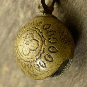 アニマルベル インド アンティーク 古鈴 一点物 真鍮製 MGD-O-BELL-138