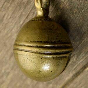 アニマルベル インド アンティーク 古鈴 一点物 真鍮製 MGD-O-BELL-171