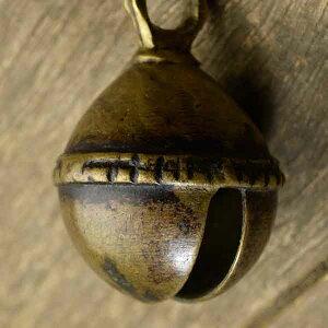アニマルベル インド アンティーク 古鈴 一点物 真鍮製 MGD-O-BELL-190