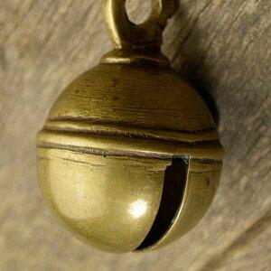 アニマルベル インド アンティーク 古鈴 一点物 真鍮製 MGD-O-BELL-205