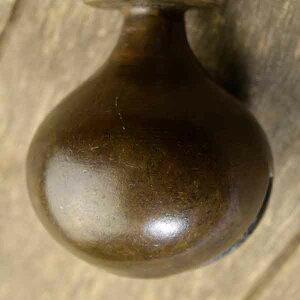 アニマルベル インド アンティーク 古鈴 一点物 真鍮製 MGD-O-BELL-246