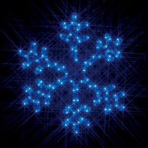 【ジェフコム/イルミネーション】SJ-C101B-N LEDルミネーション(連結タイプ) LEDモチーフ 雪の結晶(小・青) JAN:4937897124952