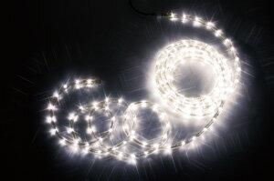 【送料無料】【ジェフコム/イルミネーション】PR3S-E24-16HH LEDフトネオン(40mmピッチ)シリーズ 16m ホワイトゴールド・ホワイトゴールド JAN:4937897129179