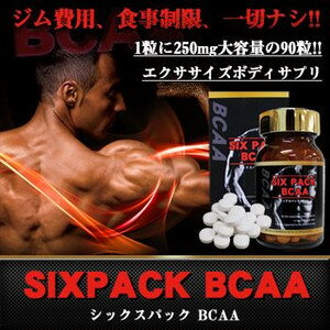 ダイエットサプリメント 筋肉増強 シックスパック BCAA シトルリン オルニチン 筋肉