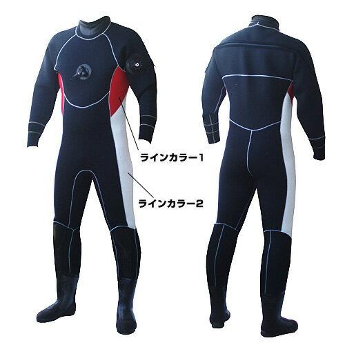日本製ダイビングドライスーツ ダイビング ドライスーツ メンズ レディース 日本製 オーダー 3,5mm 安心のアフターフォロー