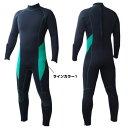 【期間限定】日本製 メンズ レディース ダイビングウェットスーツ ジャージワンピース フルオーダー可能 手足首…