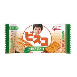 江崎グリコ ビスコミニパック小麦胚芽入 5枚×20入