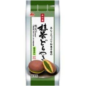 井村屋 あんこたっぷり和菓子屋の抹茶どら焼 3個×6入