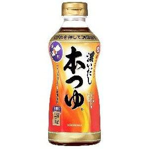 キッコーマン 【萬】濃いだし本つゆ 500ml×6入