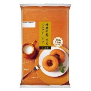 丸中製菓 ミルクドーナツ 6個×6入