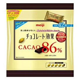 明治 チョコレート効果 カカオ86%(袋) 210g×6入