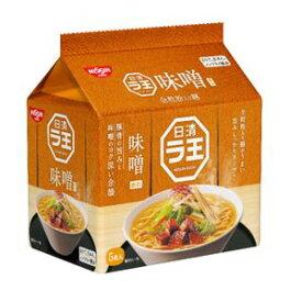 日清 ラ王 味噌 5食パック×6入