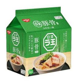 日清 ラ王 豚骨 5食パック×6入