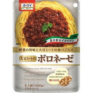 日本製粉 大豆ミートのボロネーゼ 6入