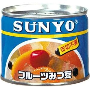 サンヨー アイサンヨー フルーツみつ豆 EO6号 12入