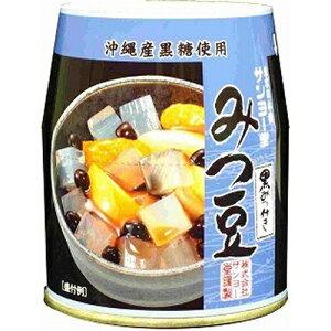 サンヨー みつ豆(黒みつ) 225g×6入