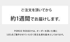 PORCOROSSO(ポルコロッソ)口枠ショルダーバッグ/レザー/本革/ショルダーバッグ/クラッチバッグ/送料無料