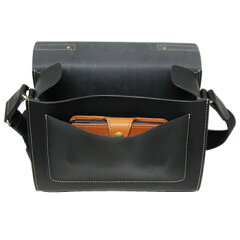 PORCOROSSO(ポルコロッソ)トランクショルダーバッグ[nouki4]レザー/本革/ショルダーバッグ/クラッチバッグupup7