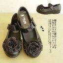 【日本製】3E おでかけしたい、脚をキレイに演出してくれるお気に入りのベルトシューズ♪ぺたんこ ラインストーン /スニーカー/レディ…