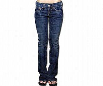 f9a2941f63c prast-inc  BeBe (Bibi) Swarovski rhinestone denim pants - 26 - (dark blue    gold)