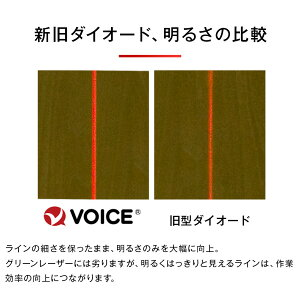 VOICEフルラインレッドレーザー墨出し器VLR-8Xメーカー1年保証アフターメンテナンスも充実フルライン照射モデル墨出器/墨出し/墨だし器/墨出し機/墨出機/墨だし機/レーザーレベル/レーザー水平器/レーザー測定器