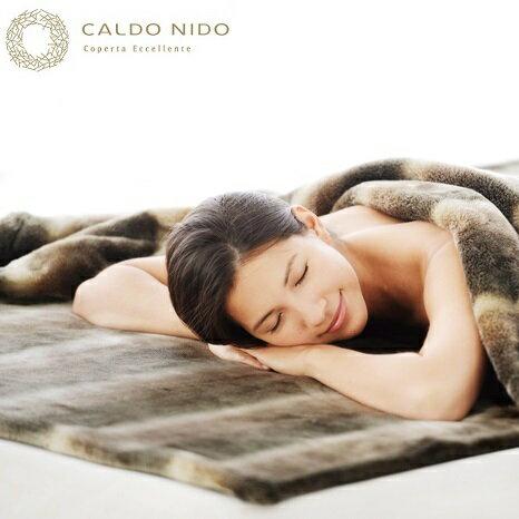 暖かい 毛布 カルドニード・ノッテ 敷き毛布 シングル 発熱 高級 日本製 アクリル 洗える CALDO NIDO 軽量 送料無料