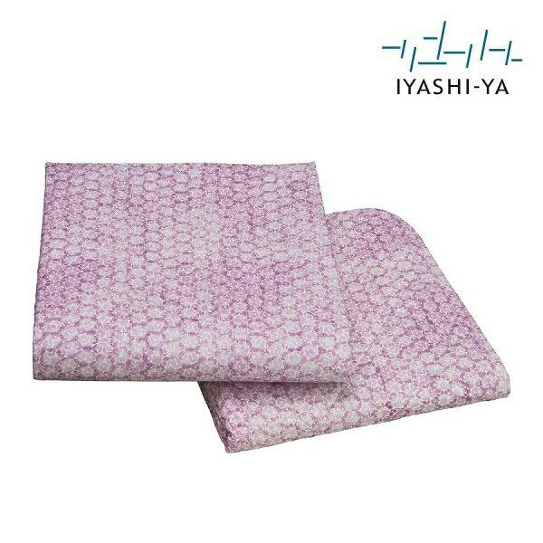 イヤシヤ ウォッシャブル 本麻 敷きパッド シングル 100×205【滋賀 麻100 洗える 日本製 ブルー ピンク 涼しい 国産 送料無料】