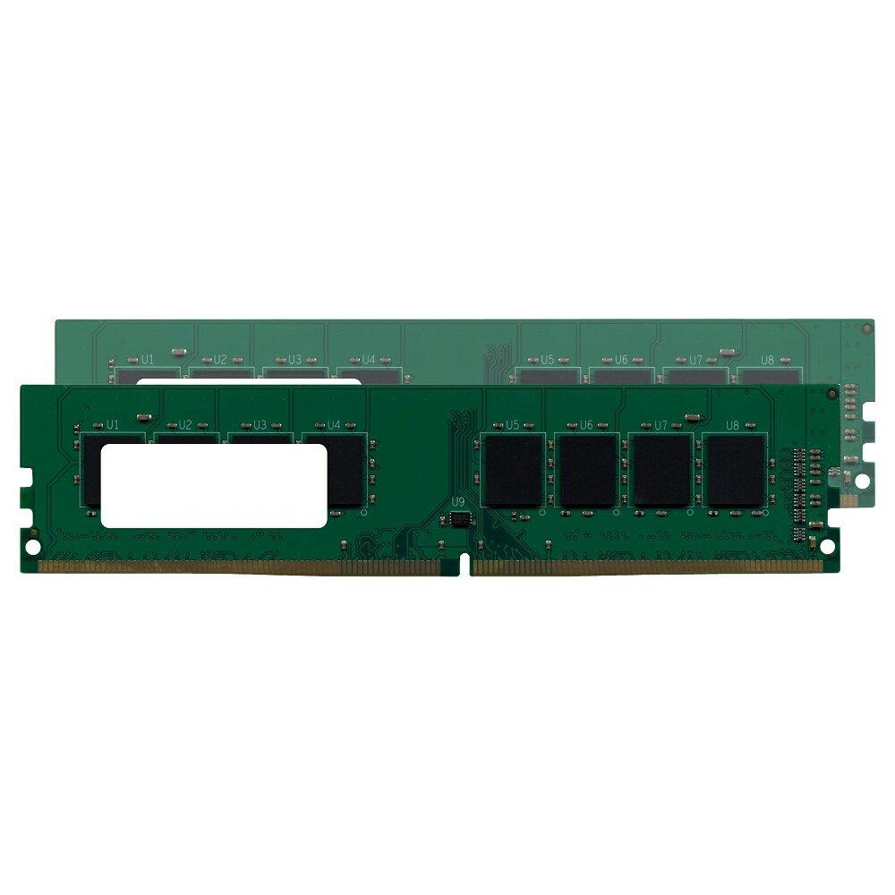 【バルク品】 増設メモリ DIMM ・DDR4 ・2133MHz ・PC4-17000 ・288pin ・4GB×2枚組 GB2133-4GX2