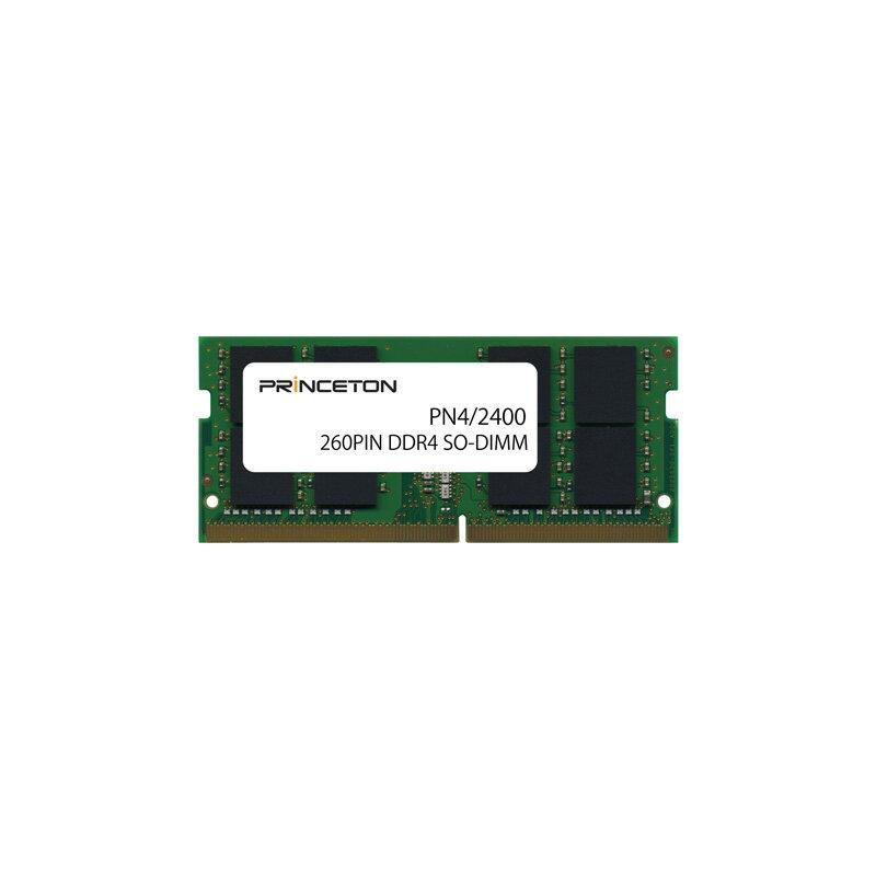 プリンストン 増設メモリ 16GB DDR4 2400MHz PC4-19200 260pin CL17 SO-DIMM PDN4/2400-16G ノート・スリムデスクPC向け DOSV/Win対応