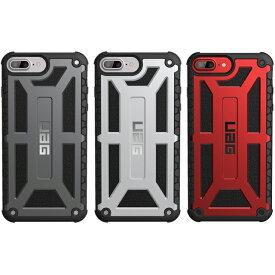 (在庫限り)UAG iPhone 8Plus 7 Plus 6s Plus Monarchケース(プレミアム) 全3色 UAG-IPH7PLS-Pシリーズ アイフォン8 Plus ケース アイフォン6sPlus アイフォン7Plus 耐衝撃ケース 衝撃吸収 軽量