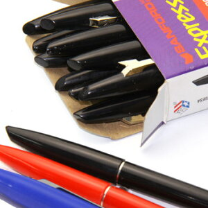 【SALE】【SANFORD(サンフォード)】Expresso 0.8mm カラーペン 1ダース12本入 (49000s)【ペン マーカー デザイン文房具 オフィス事務用品 海外ステーショナリー 水性サインペン】