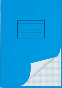 ELCO エルコ Office 学習帳 4mm方眼ノート A4 80g m2 24シート(73051-37)【文具 オフィス事務用品 ステーショナリー レポート用紙】