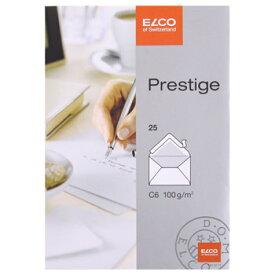 ELCO エルコ Prestige 2重封筒 C6 25枚入 (73127-12)【文具 オフィス事務用品 ステーショナリー レター】