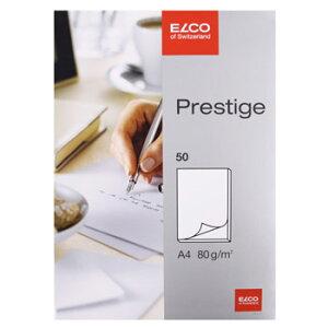 ELCO エルコ Prestige 無地ノートパッド A4 80g m2 50シート (73711-14)【文具 オフィス事務用品 ステーショナリー ノート レター】