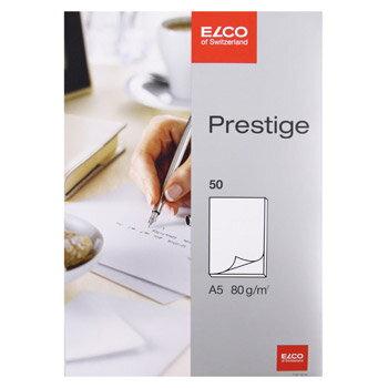 【メール便対応】【ELCO(エルコ)】Prestige 無地ノートパッド A5 80g m2 50シート (73712-14)【文具 オフィス事務用品 ステーショナリー ノート レター】