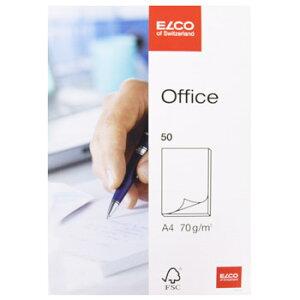 ELCO エルコ Office 無地ノートパッド A4 70g m2 50シート (74401-14)【文具 オフィス事務用品 ステーショナリー ノート レター】