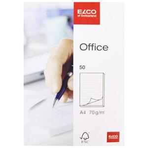 ELCO エルコ Office 9mm罫線ノートパッド A4 70g m2 50シート (74402-15)【文具 オフィス事務用品 ステーショナリー ノート レター】