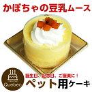 新入荷(コミフ)誕生日ケーキワンちゃん用犬用ワンちゃん用コミフかぼちゃの豆乳ムースペットケーキ