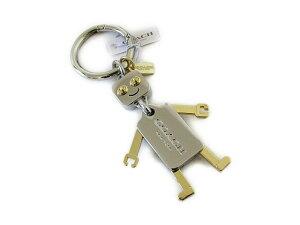 【スペシャル】Coach コーチ キーホルダー キーチェーン チャーム ロボット キーホブ 65429 シルバー/ゴールド【新品】COACH ROBOT Moveable Limbs Key FOB (Style F65429) SV/GD