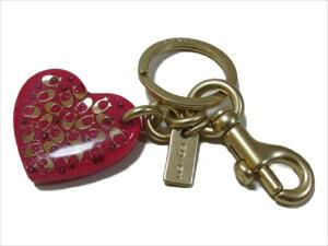 【スペシャル】[コーチ] キーホルダー キーチェーン チャーム シグネチャー ハート キーホブ COACH Signature Heart Key Fob F32230 GDBCE