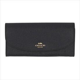 【スペシャル】[コーチ] 長財布 クロスグレイン スリム エンベロップ COACH Crossgrain Leather Slim Envelope F54009 IMMID IM/Midnight