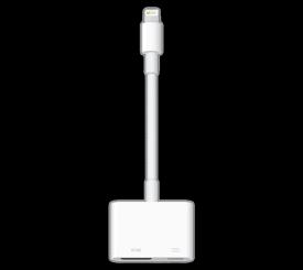 【送料無料】Apple Lightning - Digital AVアダプタ MD826AM/A アクセサリー ケーブル 新品 国内正規品 認定店 楽天モバイル