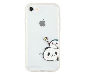 【送料無料】iPhone SE 第2世代/8/7 お買いものパンダ IIIIfit Clear (ひょっこり)