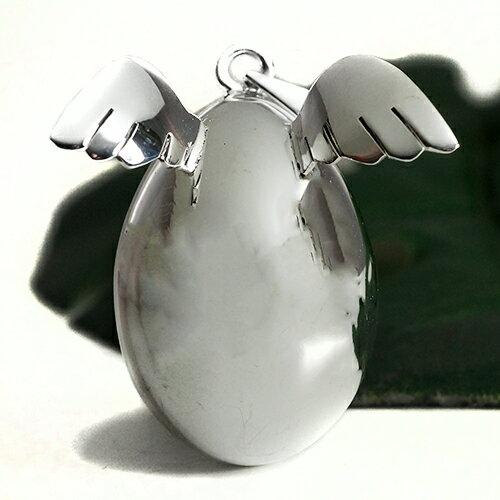 メキシコ MUSICAL BALL ミュージカルボール エンジェルウイング(天使の羽) エッグ(卵)ペンダントトップ|ガムランボール|ミュージック|鐘(ベル)|オルゴール【メール便対応可】