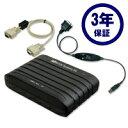 RS-232C 56K DATA/14.4K FAX Modem (USB変換ケーブル付) 3年保証モデル REX-C56EX-UW3