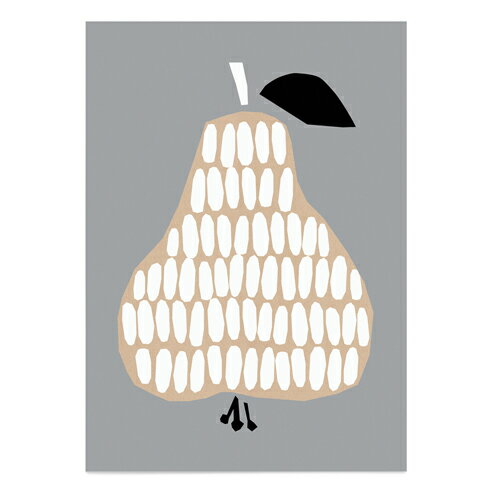 【マラソン限定送料無料】ダーリン・クレメンタイン ハーベストポスター 洋梨 50×70cm【Daling Clementine】【Harvest】【洋なし】【ポスター】【ダーリンクレメンタイン】