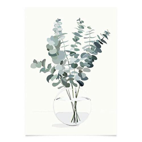 コートカルテレット ポスター ユーカリ【ポスター】【Kortkartellet】【北欧】【インテリア】【おしゃれ】【Kortkartellet】【A3】【かわいい】