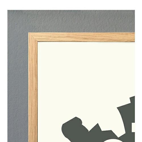 コートカルテレット ポスターフレームA3 全3色【ポスター】【木製】【Kortkartellet】【北欧】【インテリア】【おしゃれ】【かわいい】【額縁】