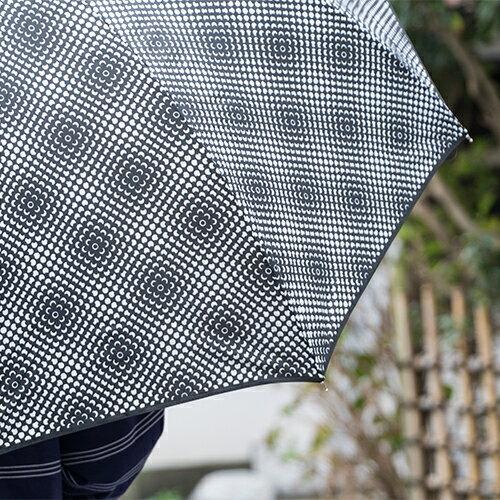 【最大1,000円OFFクーポン 5/31まで】KURA リズベットフリース 長傘ミニフラワーパワー/ミニドッツ(雨傘 雨具 lisbetfriis かさ 梅雨 雨 おしゃれ 大きい モノトーン クーラ 北欧)
