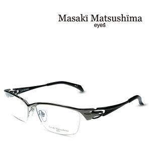 マサキマツシマ Masaki Matsushima MF-1243 C-3 グレー ブラック 度付きメガネ 伊達メガネ メンズ 日本製 眼鏡 メガネ フレーム 新作 (お取り寄せ)